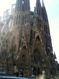 Nativity Facade - Gaudi